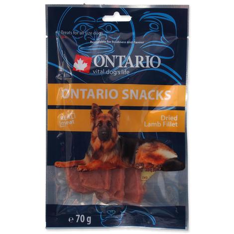 Snack ONTARIO dry lamb fillet 70g