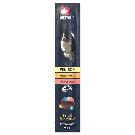 Stick ONTARIO for dogs venison 15g