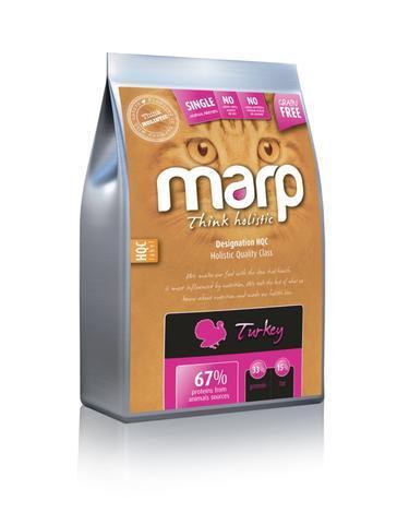 Marp Holistic Turkey CAT - krůtí bez obilovin pro kočky