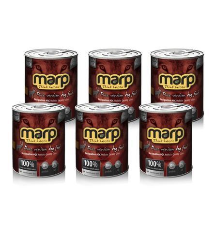 Marp Venison konzerva pro psy se zvěřinou
