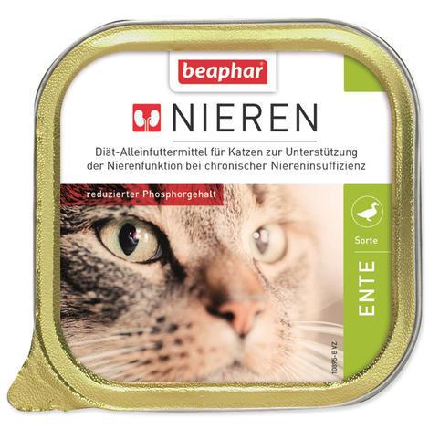 Paštika BEAPHAR Renální dieta pro kočky s kachnou 100g