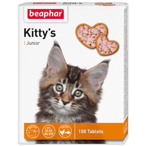 Pochoutka BEAPHAR Kitty´s Junior biotin 150tablet
