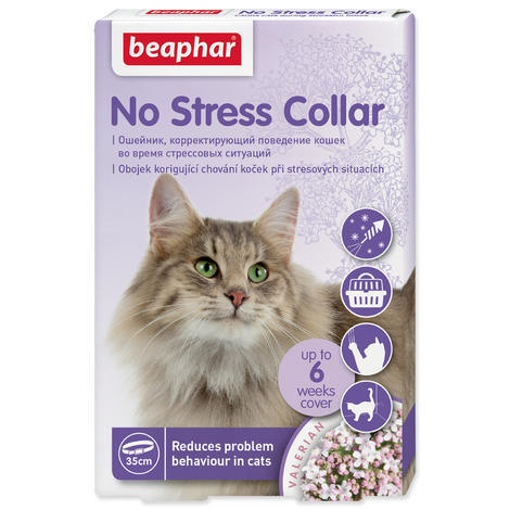 Obojek BEAPHAR No Stress kočka 35 cm 1ks