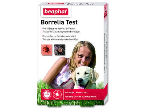 Test BEAPHAR Borrelia a zvířat Lymskou boreliózu