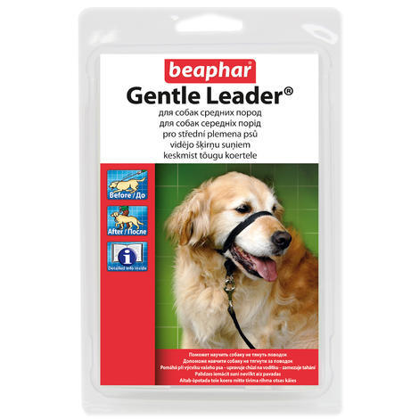 Ohlávka BEAPHAR Gentle Leader for medium dogs M