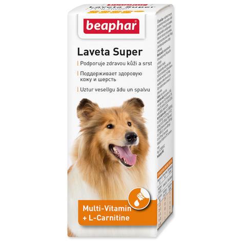Vitamíny pro psy BEAPHAR Laveta Super vyživující srst 50ml