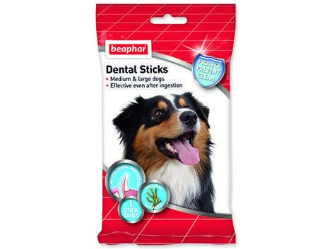 Pochoutka BEAPHAR dentální tyčinky pro střední a velké psy 182g