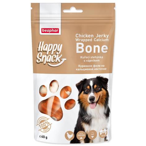 Pochoutka BEAPHAR Happy Snack Dog kuřecí stehýnka s vápníkem 60g