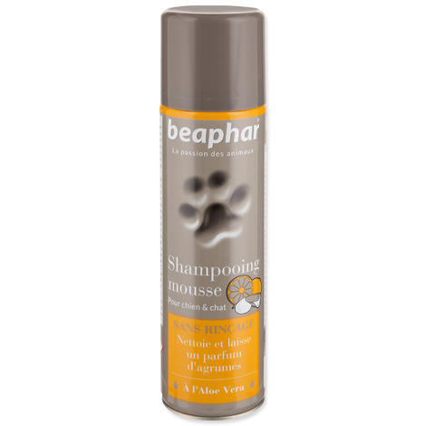 Šampón BEAPHAR suchý pěnový 250ml