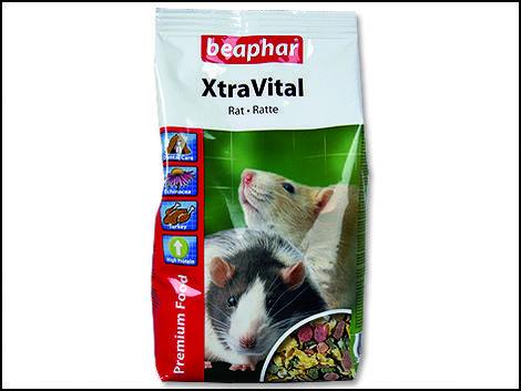 Krmivo BEAPHAR XtraVital potkan 2,5kg