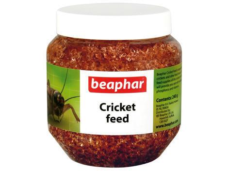 Krmivo BEAPHAR Cricket feed pro cvrčky a krmný hmyz 241 g