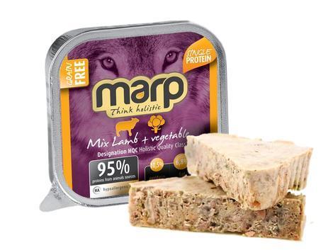 Marp Mix vanička pro psy jehně+zelenina