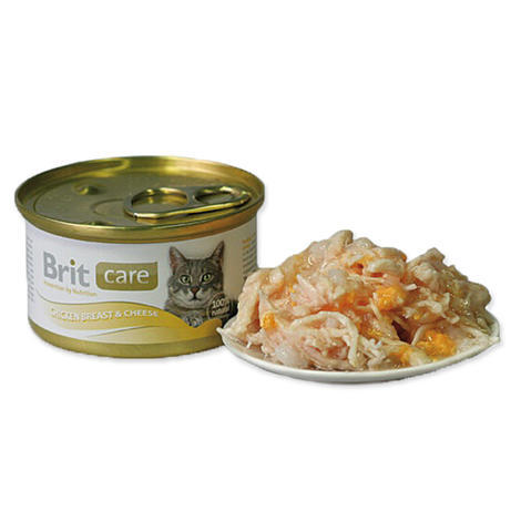 BRIT Care Chicken Breast & Cheese 80g