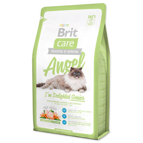 Granule BRIT Care Cat Angel I`m Delighted Senior 2kg