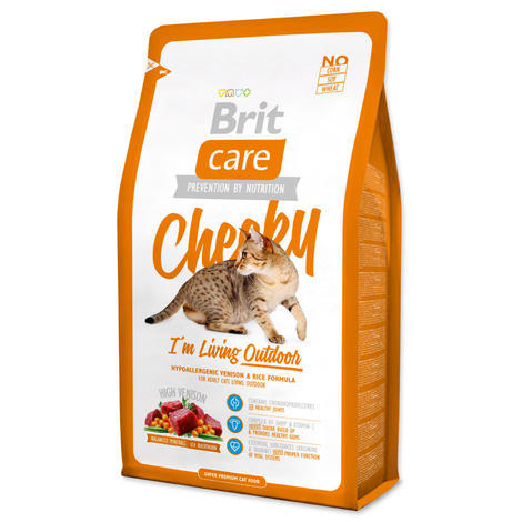 Granule BRIT Care Cat Cheeky I`m Living Outdoor