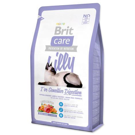 Granule BRIT Care Cat Lilly I`ve Sensitive Digestion 2kg