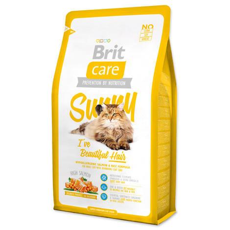 Granule BRIT Care Cat Sunny I`ve Beautiful Hair 2kg