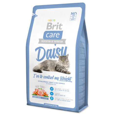 Granule BRIT Care Cat Daisy I`ve to control my Weight 2kg