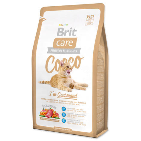 Granule BRIT Care Cat Cocco I`am Gourmand