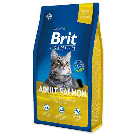 BRIT Premium Cat Adult Salmon - 1
