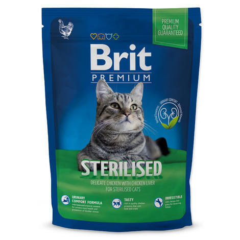 BRIT Premium Cat Sterilised 800g 800g