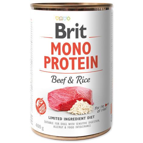 BRIT Mono Protein Beef & Brown Rice 5+1 ZDARMA 400g - 1