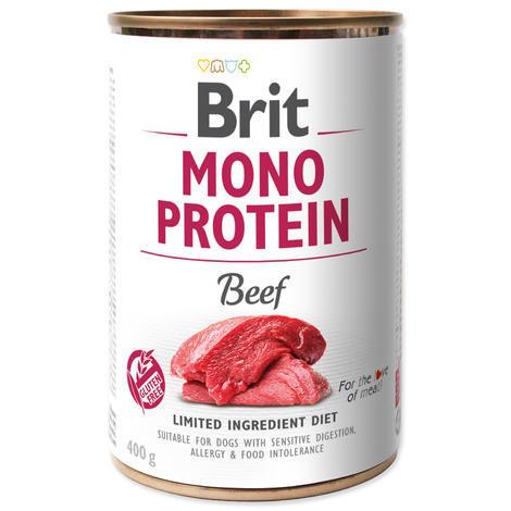 BRIT Mono Protein Beef 5+1 ZDARMA 400g - 1
