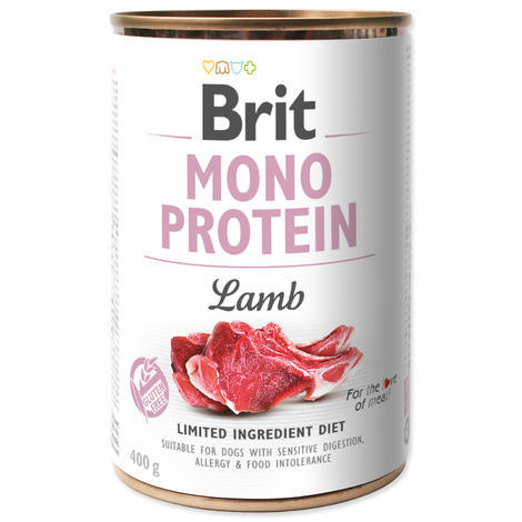 BRIT Mono Protein Lamb 5+1 ZDARMA 400g - 1