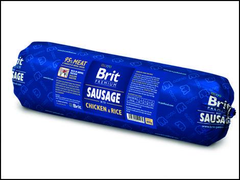 BRIT Sausage with Chicken & Rice 800g