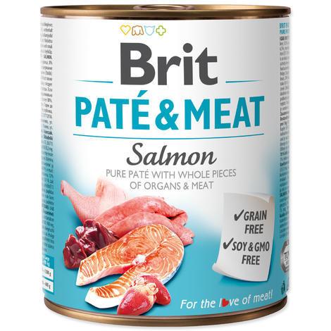 BRIT Paté & Meat Salmon - 1