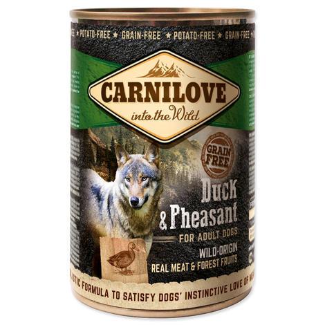 Konzerva CARNILOVE Wild Meat Duck & Pheasant 400g - 1