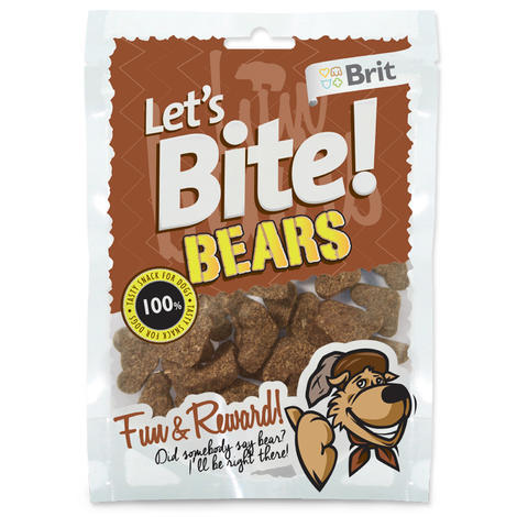 BRIT Lets Bite Bears 150g