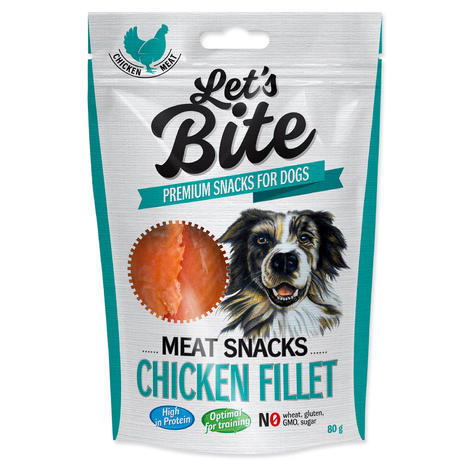 BRIT Let´s Bite Meat Snacks Chicken Fillet 300g
