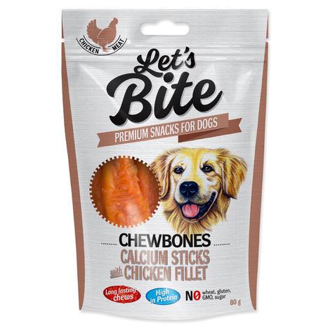 BRIT Let´s Bite Chewbones Calcium Sticks with Chicken Fillet 300g