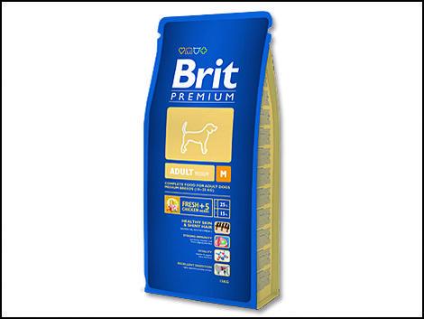 Granule BRIT Premium Adult M 15kg