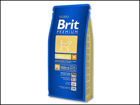 Granule BRIT Premium Adult M 3kg