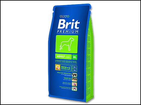 Granule BRIT Premium Adult XL 3kg