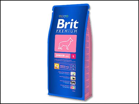 Granule BRIT Premium Junior L 15kg