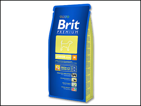 Granule BRIT Premium Junior M 3kg