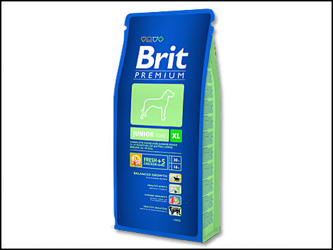 Granule BRIT Premium Junior XL 15kg