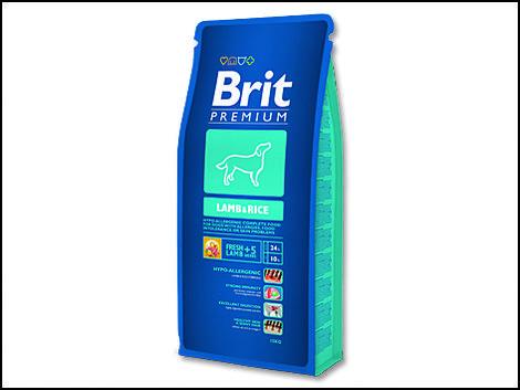 Granule BRIT Premium Lamb & Rice 15kg
