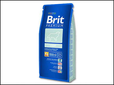 Granule BRIT Premium Light 3kg