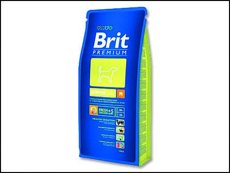 Granule BRIT Premium Junior M 1kg