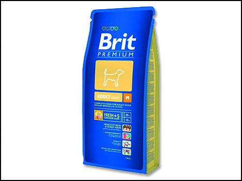 Granule BRIT Premium Adult M 1kg