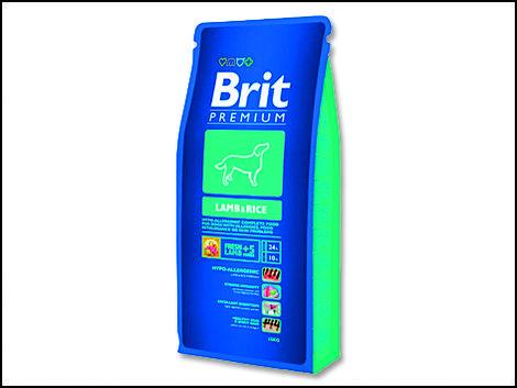 Granule BRIT Premium Lamb & Rice 1kg