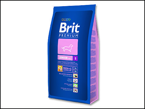 Granule BRIT Premium Junior S 3kg