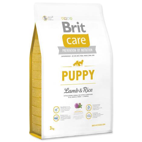 Granule BRIT Care Puppy Lamb & Rice 3kg