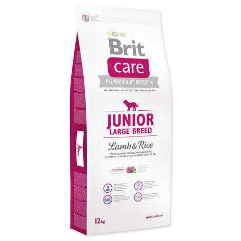 Granule BRIT Care Junior Large Breed Lamb & Rice 12kg