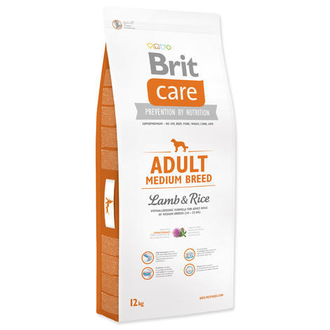 Granule BRIT Care Adult Medium Breed Lamb & Rice - 1