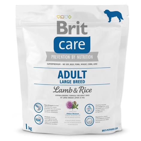 Granule BRIT Care Adult Large Breed Lamb & Rice 1kg